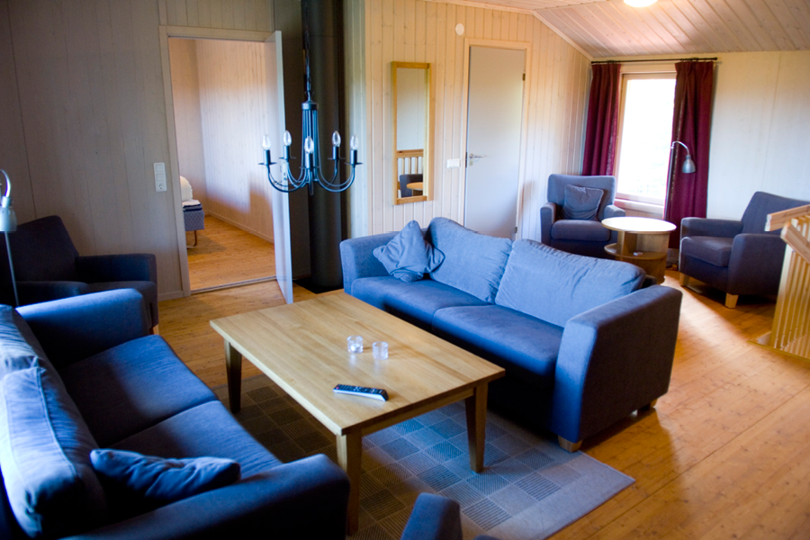 Järvsö Stugby vardagsrum