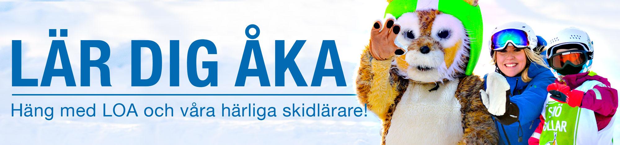 Lär dig åka skidor i Järvsö