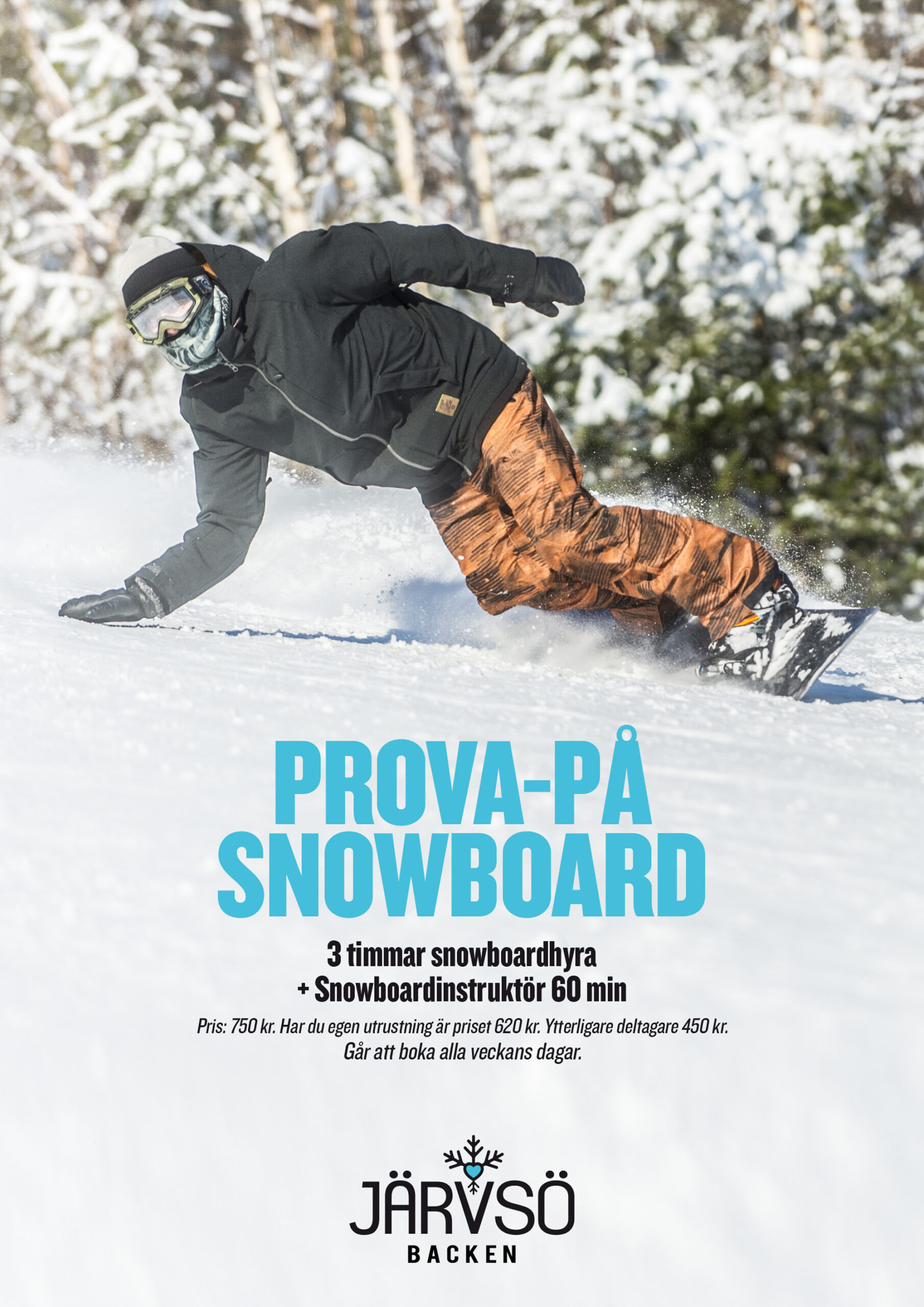Prova på Snowboard